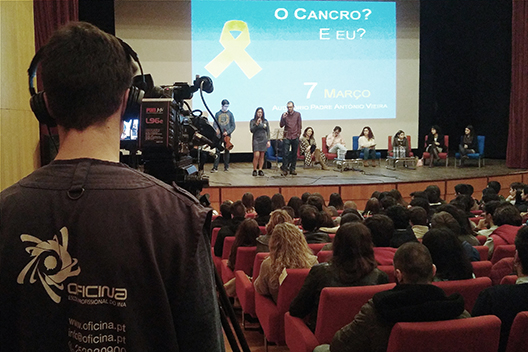 oficinacobertura audiovisual conferencia cancro